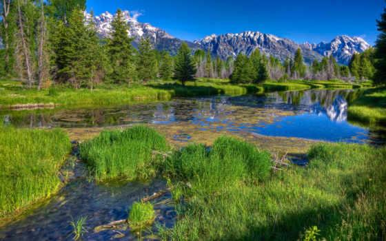 пейзажи -, компьютер, природа, rylik, страница, красивые, завораживающие, горы, summer, дизайна,