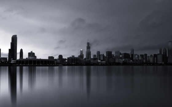 город, chicago, america