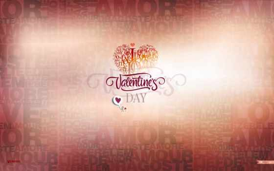 февраль, love, день, valentines,