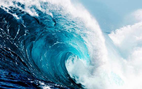 волна, tidal, waves, tsunami, water, ocean,