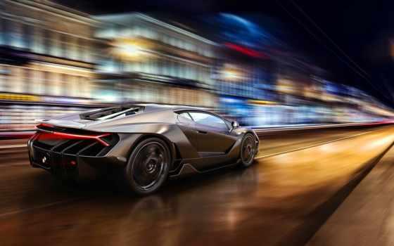 спорткар, скорость, огни, суперкар, машина, спортивный автомобиль, вид транспорта, performance car, купе,  lamborghini,
