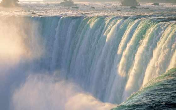 водопад, природа, niagara, канада, complex, пасть, water, красивый, миро