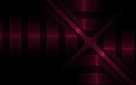 fractal, geometric, hexagon, line, dark, телефон, ноутбук, mac, планшетный, mobile