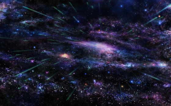 космос, звезды, взгляд, туманности, небо, космосе, полет,