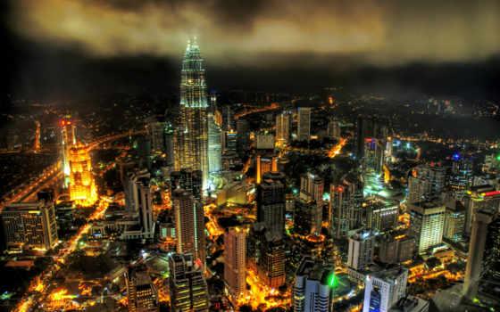 мегаполис, malaysia, lumpur