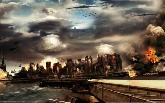 war, фантастика, world