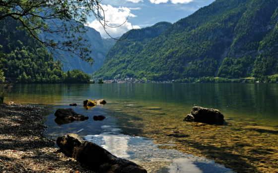 austrian, природа, супер, озеро, картинка, hallstatt, liveinternet, халльштатт,