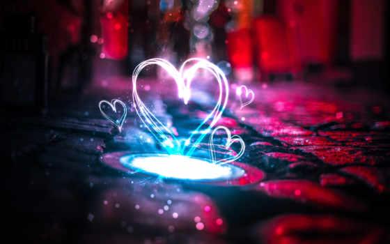 love, neon, черви, сердце, пара, you, mobile,