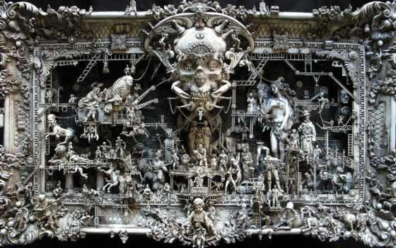 скульптуры, необычные, кукси