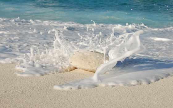 iphone, камень, ocean, песок, apple, море, берегу, октября, water, practice,