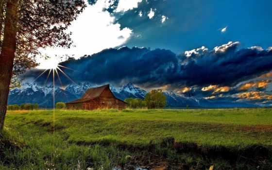 горах, lodge, уединения, best, выбор, house, озера, горы, место, озеро, wooden,