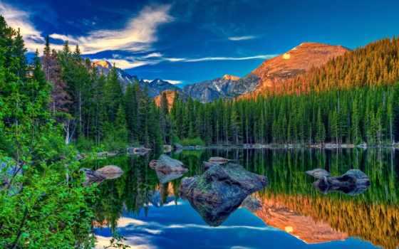 природа, коллекция, пользователя, осень, яndex, широкоформатные, горы,