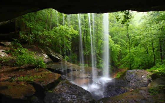 природа, водопад Фон № 22524 разрешение 2560x1707