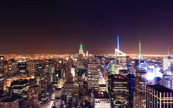 york, new, город, нью, ночь, йорк,