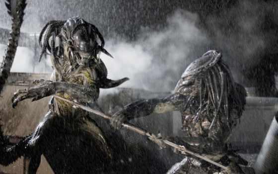 хищника, против, чужие, requiem, чужой, хищник, сниматься, aliens, online,