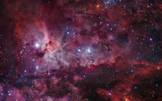 туманность, звезды