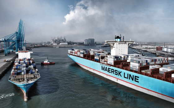 maersk, line, container