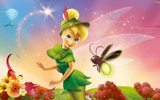динь, fei, фея, online, puzzle, вафельная, картинка, peter, сказки, принцессы,
