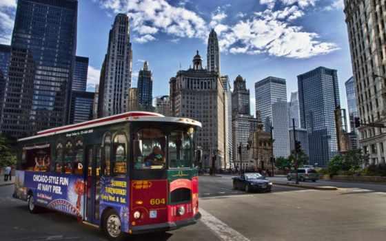 chicago, чикаго, amerika, сша, небоскребы, здания,