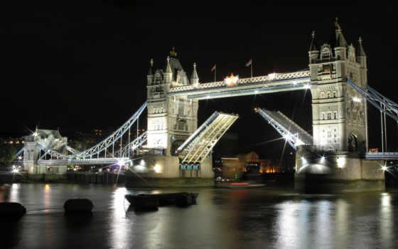 мост, башня, london