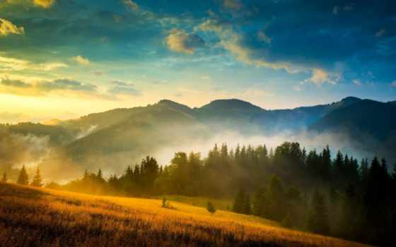 landscape, mountains, widescreen, resolutions, desktop, природа,
