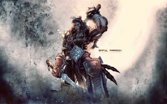 warcraft, world, varian, art, wrynn, меч, размеры, lee, jim,