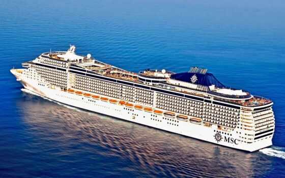лайнер, биг, splendida, палуба, cruise, preziosa, море, миро, новинка, корабль
