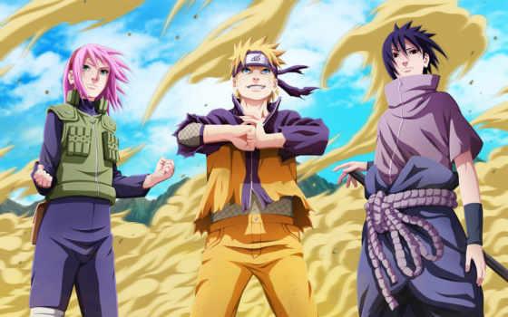 naruto, sasuke, shippuden, учиха, uzumaki, art, ninja, haruno, Сакура, парни,