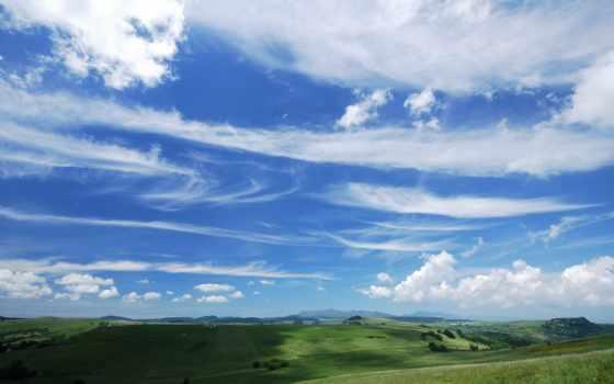 blue, небо, пасмурный, mac, free,