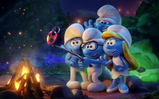 smurfs, lost, деревня, смурфики, затерянная, movie,