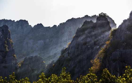 природа, горы, таиланд