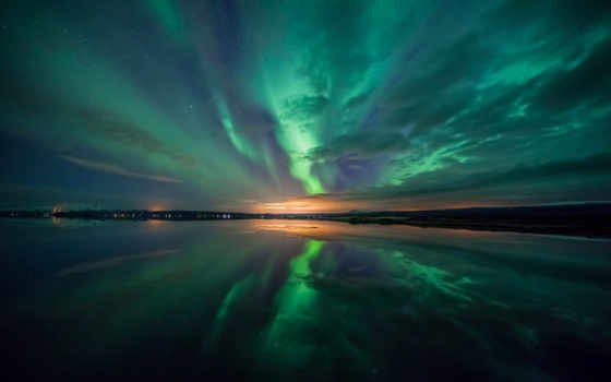 aurora, ultra, borealis, high,