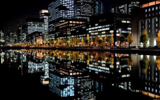 качественные, japanese, небоскребы, ночь, tokio, сайте, нашем, мар, город, заставки,