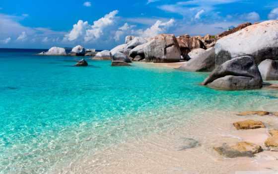 райские, пляжи, фотографиях, путешествия, большой, фотопост, пляж,