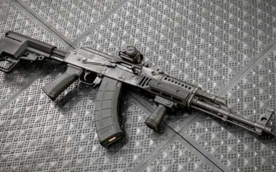 оружие, ак, custom, джин, винтовка, assault, калашников