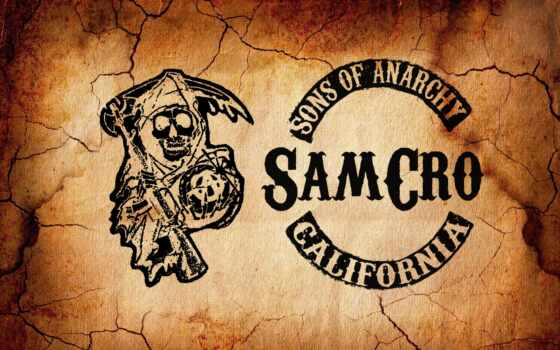 sons, anarchy, сыны, анархии, logo, samcro, минимализм, серия,
