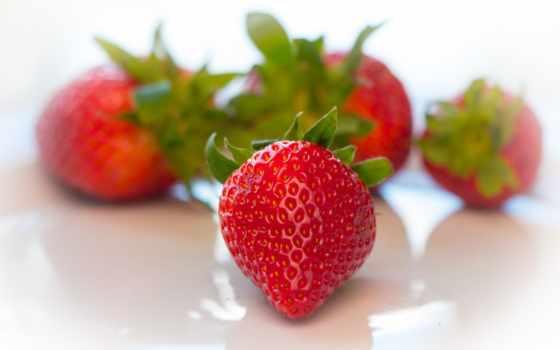 ягода, красная, клубника, red, макро, images,