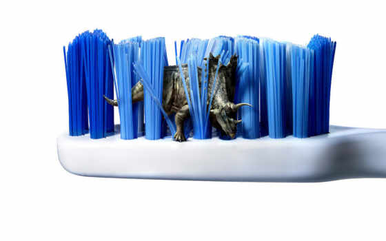 imagenes, creative, toothbrush, desktop, динозавры,