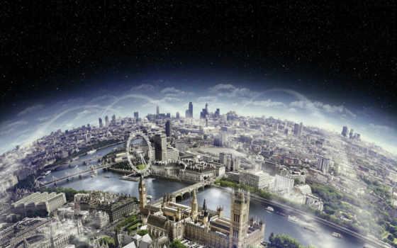 london, вид