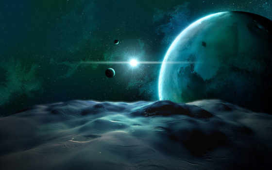 space, fantasy Фон № 24819 разрешение 1920x1080