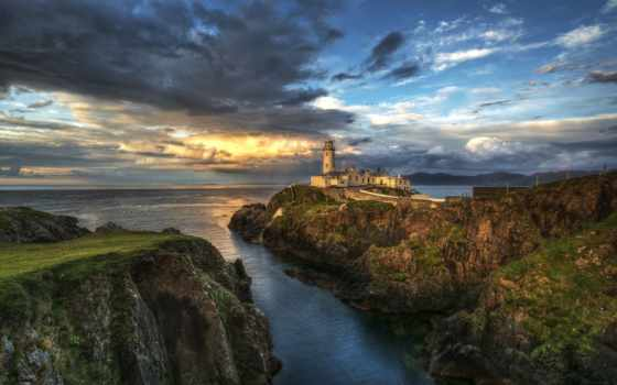 iceland, коллекция, картинок, desktopwallpape, lighthouse, моря, обрыве, fone,