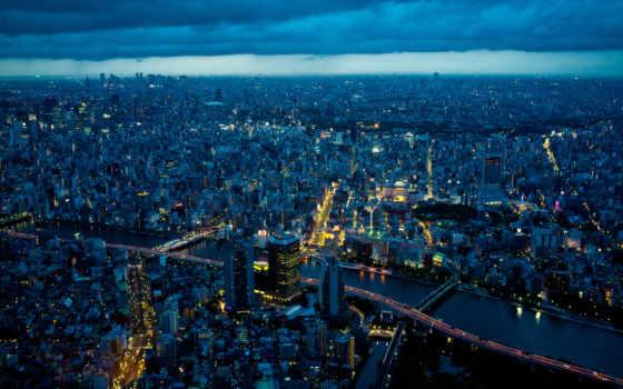 tokio, japanese, город, ночь, города,