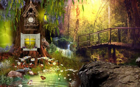 природа, фантасмагория Фон № 22651 разрешение 1920x1200