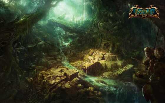 immortals, битва, руины, джунгли, пленница, древний, войны, лианы, храм,