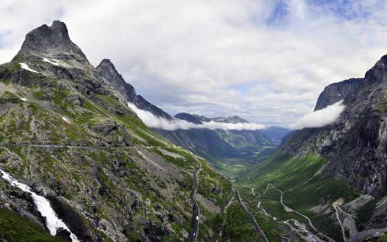 норвегия, норвегия, пейзаж, oblaka, alesund, картинок, олесунн, вестланн, коллекция, горы, desktopwallpape,