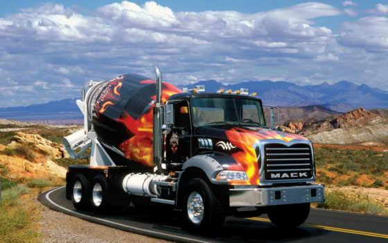 truck, mack, автомобили, картинка, gruzoviki,