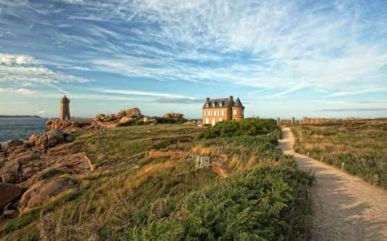 франция, bretagne, landscapes, brittany, properties, sale,
