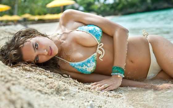девушек, пляже, devushki, красивые, красивых, девушка, самые, купальниках,