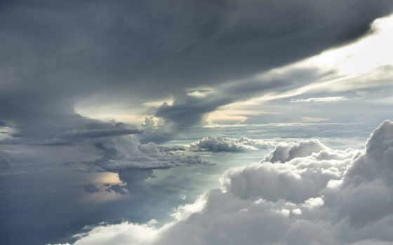 oblaka, тучи, небо, украсят, ваше, рабочее, десктопмания, высококачествен, гарантированно,