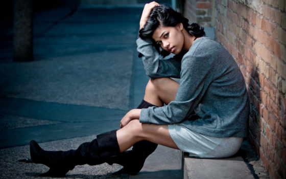 boots, high, women, heels, headphones, art, волосы, качество,